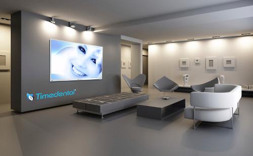 Timedental sistema de comunicaci n dental sala de espera y gabinete librer a servicio - Clinica veterinaria silla ...