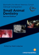 Blackwell's Five-Minute Veterinary Consult Clinical Companion: Small Animal Dentistry - Lobprise