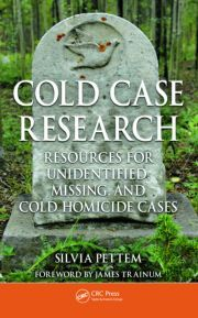 Cold Case Research Resources for Unidentified, Missing, and Cold Homicide Cases - Pettem