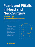 Pearls and Pitfalls in Head and Neck Surgery - Cernea / Dias / Fliss / Lima / Myers / Wei