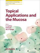 Topical Applications and the Mucosa - Surber / Elsner / Farage