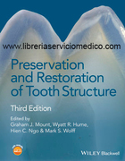 PRESERVATION AND RESTORATION OF TOOTH STRUCTURE 3ed - Mount