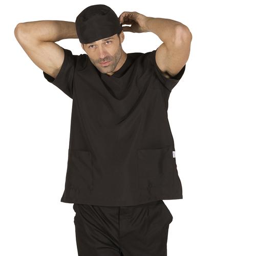Blusa microfibra pijama sanitario negro librer a servicio for Sanitarios negros
