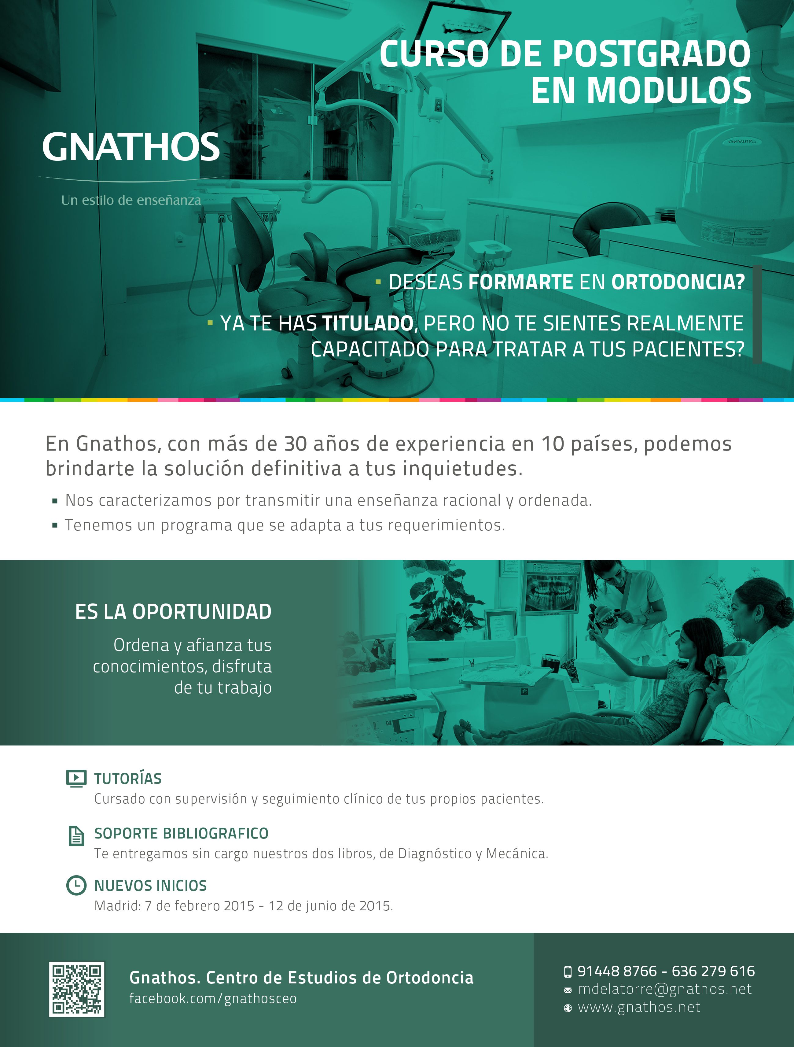 Curso de Postgrado en Ortodoncia - Gnathos Centro de Estudios de Ortodoncia