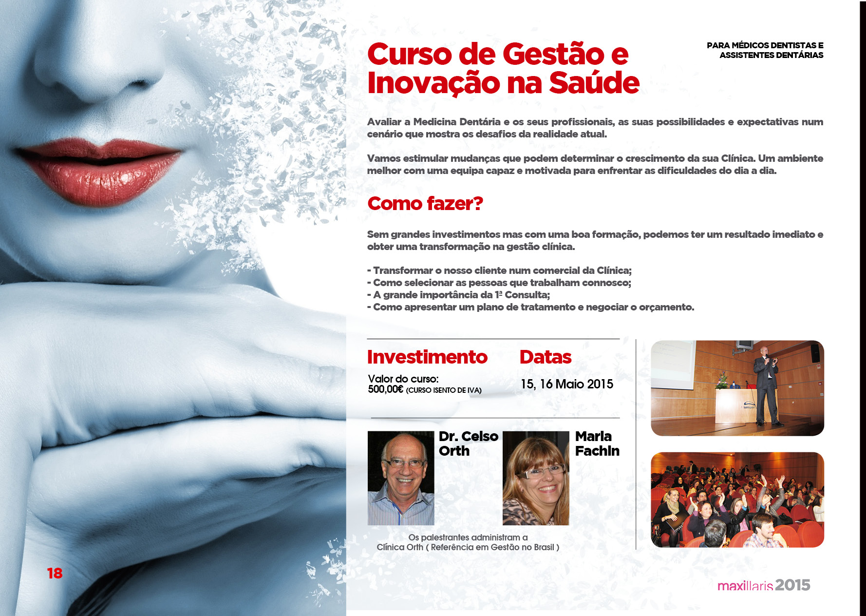 Curso de Gestao e Inovaçao na Saúde - Maxillaris