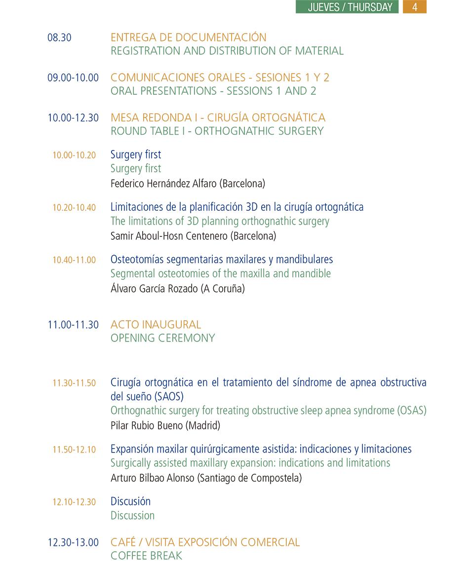 Programa SECOM 2015