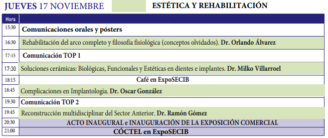 Programa Cientifico XIV SECIB