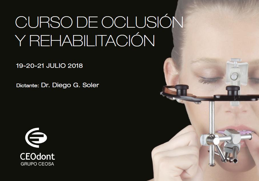 Curso de Oclusión y Rehabilitación 2018 Ceodont