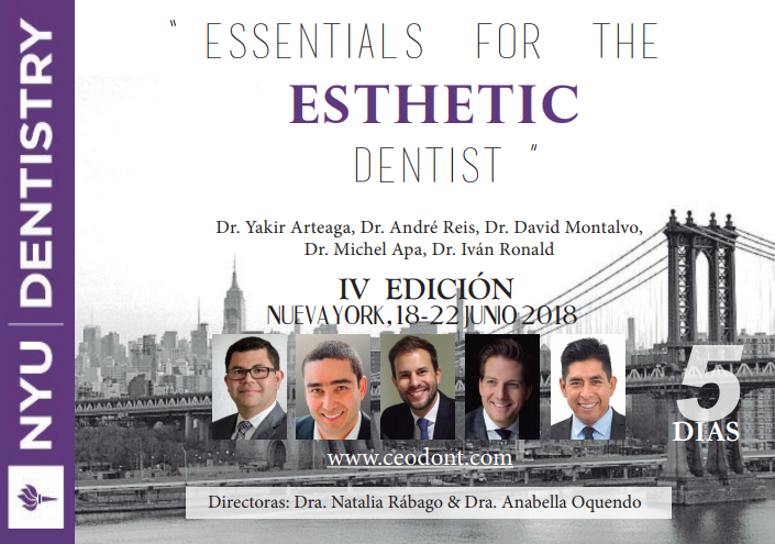 Essentials for the ESTHETIC DENTIST - CEOdont - NYU Dentistry