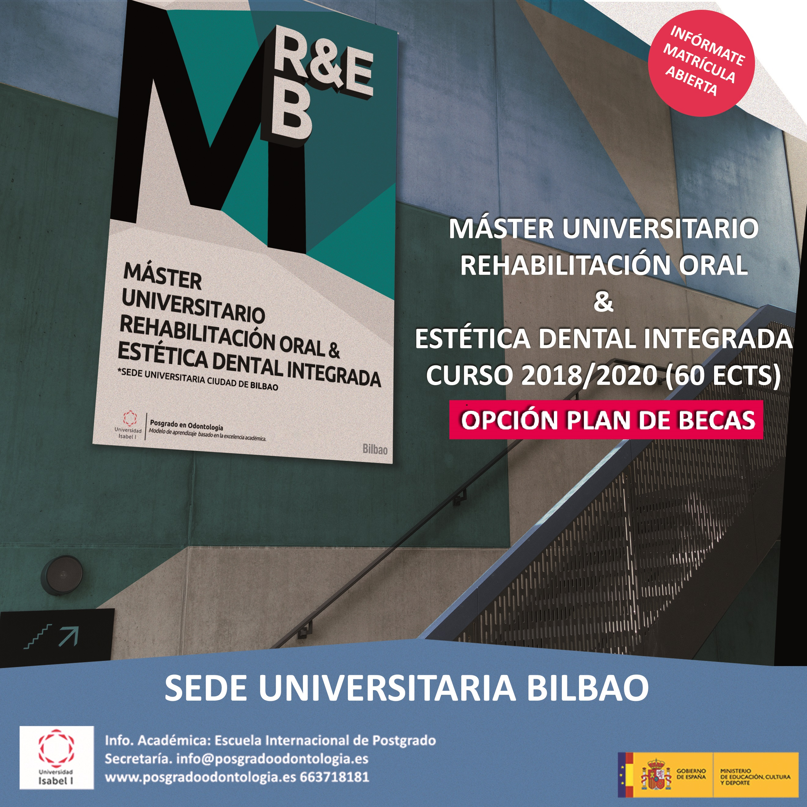 Rehabilitación Oral & Estética Dental Integrada - Universidad Isabel I Castilla 2018/2020